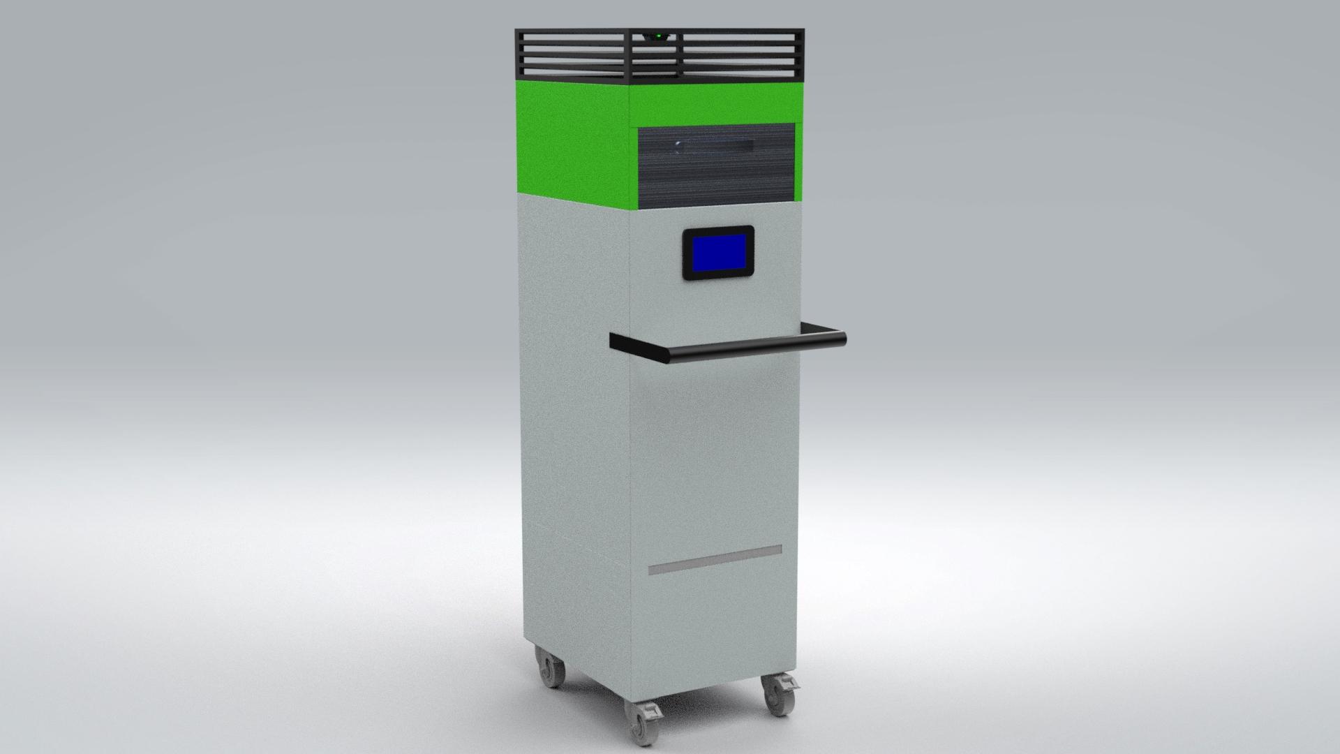 Plasticos Carrera | Equipo Desinfeccion Avic Box Plasticos Carrera